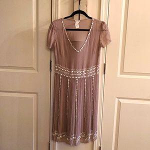 Cachrel Silk Beaded Dress